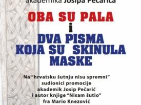 Akademik Josip Pečarić - Hercegovac iz Boke promovira svoje nove knjige u Širokom Brijegu